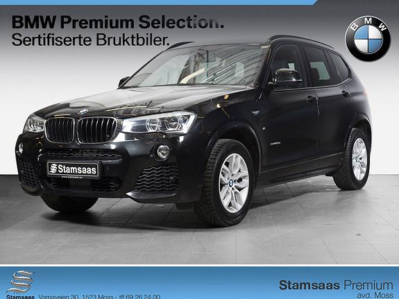 BMW X3 xDrive20d 190hk aut M SPORT, NY I NORGE, 190 HK!