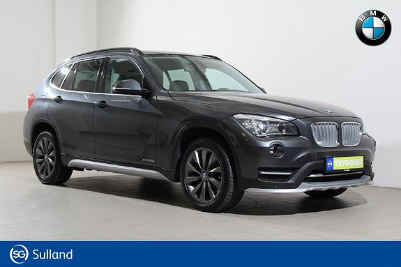 BMW X1 xDrive18d (136hk) aut xLine-Navi-DAB+-Kamera-Skinn++