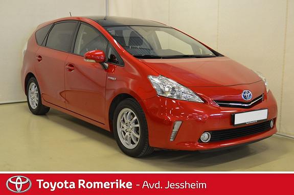 Toyota Prius+ Seven 1,8 VVT-i Hybrid Executive Skyview  2013, 50700 km, kr 249000,-