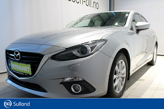 Mazda 3 2,0 120hk Optimum HEAD-UP, SKINN, NAVI, DAB+, BOSE