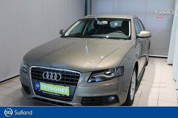 Audi A4 Avant 2,0 TDI 120hk PEN KM, XENON, MLF-RATT