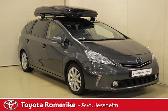 Toyota Prius+ Seven 1,8 VVT-i Hybrid Premium Glasstak, Radar cruise, skibok  2015, 43400 km, kr 279000,-