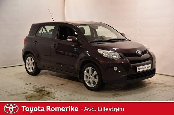 Toyota Urban Cruiser 1,3 VVT-i Dynamic Stop&Start  2011, 76599 km, kr 99000,-