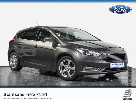 Ford Focus 1,0 EcoBoost 125hk Titanium DAB+, Xenon, Park.sensor