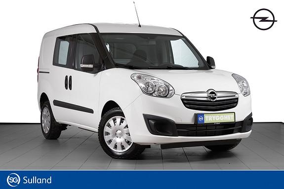 Opel Combo L1H1 1,6 CDTI 120hk Mester STØRSTE MOTOREN-SE KM STAND!