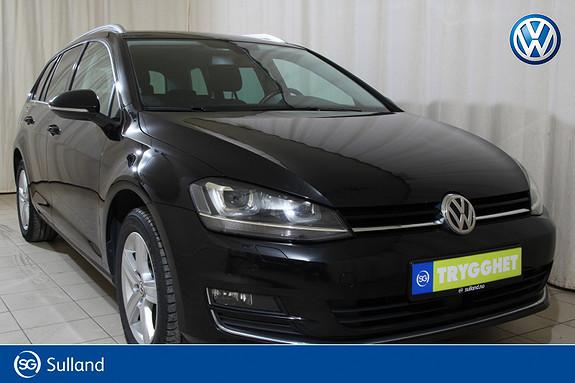 Volkswagen Golf 1,6 TDI 110hk Highline DAB+/WEBASTO