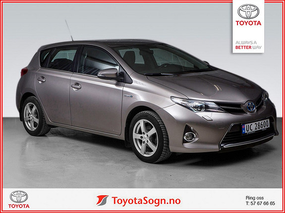 Toyota Auris 1,8 Hybrid E-CVT Active  2013, 48000 km, kr 179000,-