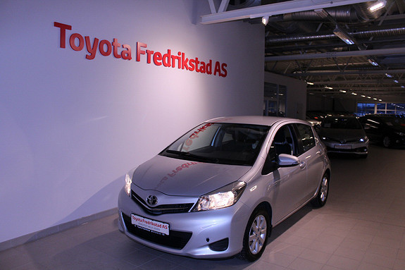 Toyota Yaris 1,33 Active  2013, 62329 km, kr 139000,-