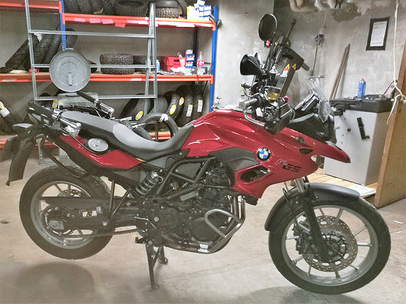 BMW F700GS 2013, 24229 km, kr 92000,-
