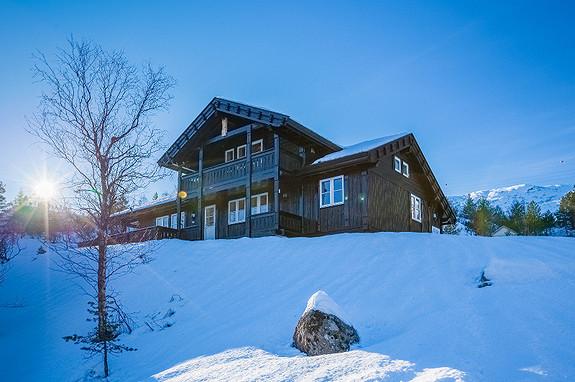 Prosjektert hytte i Bjønnåsen – Panoramautsikt mot Trysilfjellet
