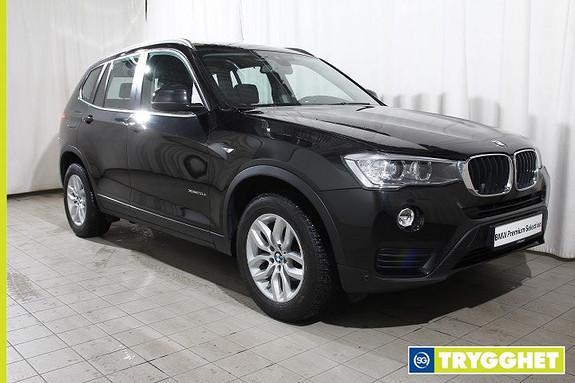 BMW X3 xDrive 20dA Nav-Skin-Comf.acc-R.kam-Oppv.r-Skiltles-DAB