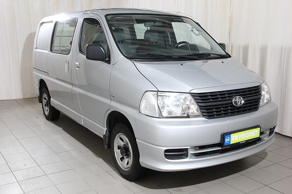 Toyota HiAce D-4D 5-d 117hk 4WD kort Air condition, hengerfeste, 4wd