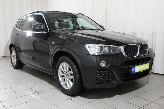 BMW X3 xDrive20d 163hk aut M sport