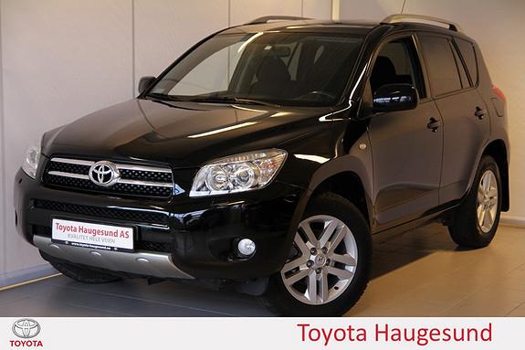 Toyota RAV4 2,0 VVT-i Cross Sport aut Navi, cruise, Bluetooth, auto  2008, 99997 km, kr 199000,-