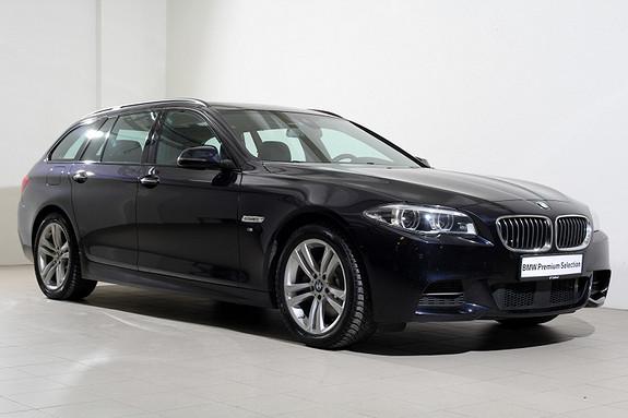 BMW 5-serie 520d xDrive Touring 190hk aut Mpakke-Navi-Webasto-LED++