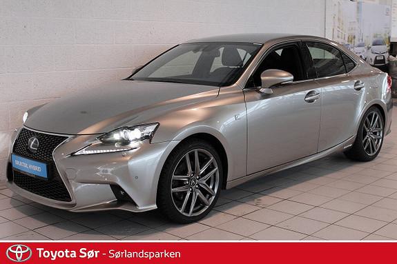 Lexus IS 300h F Sport  2015, 15686 km, kr 459000,-
