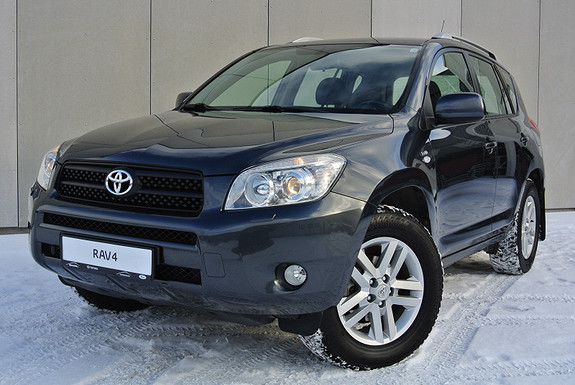 Toyota RAV4 2,2 D-4D 136hk Sport H.feste - M-varmer - 1 år garanti  2006, 134016 km, kr 149900,-