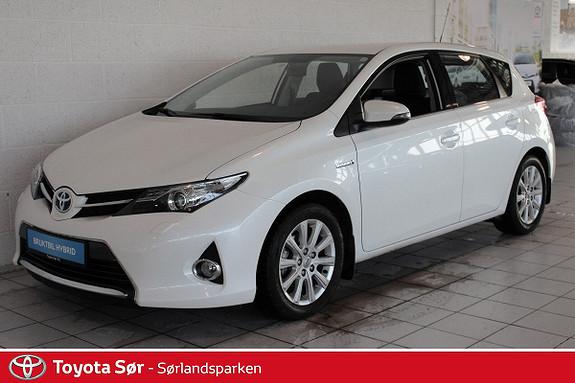 Toyota Auris 1,8 Hybrid E-CVT Active INNBYTTEGARANTI KR. 20.000,-  2013, 31500 km, kr 209000,-