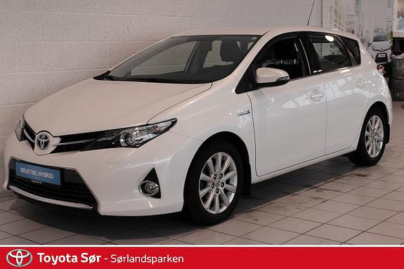 Toyota Auris 1,8 Hybrid E-CVT Active S INNBYTTEGARANTI KR. 20.000,-  2014, 54000 km, kr 209000,-