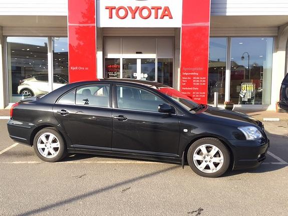 Toyota Avensis 1,8 Sol Business m/ BT, AC, Radio/CD Spiller ++  2003, 183175 km, kr 69000,-