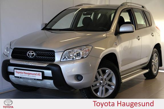 Toyota RAV4 2,2 D-4D 136hk DPF Cross Sport A/C, setevarme, tectyl  2008, 106167 km, kr 159000,-