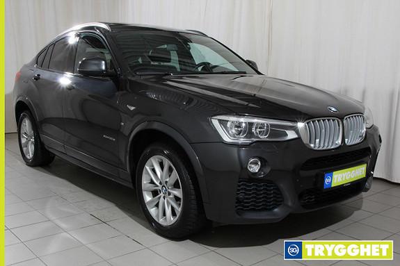 BMW X4 xDrive30d 211hk aut Navi, M Sport, Hengerfeste, DAB, Sk