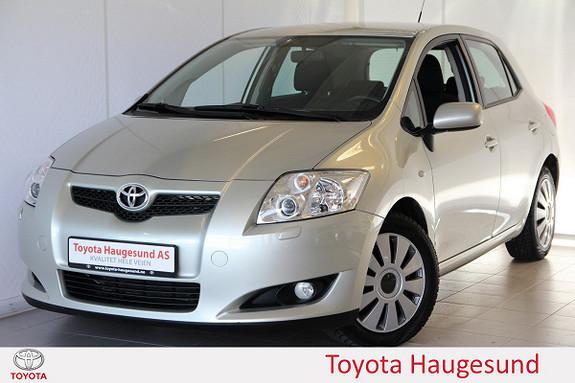 Toyota Auris 1,4 D-4D Sol Autoklima, setevarme, MF-ratt, tectylert -  2009, 75719 km, kr 109000,-