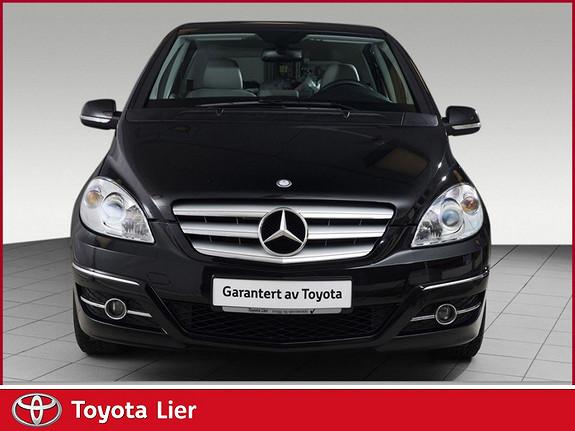 Mercedes-Benz B-Klasse 160 aut. Fin bil, deleskinn, servicehefte komplett , kan  2010, 80912 km, kr 139000,-