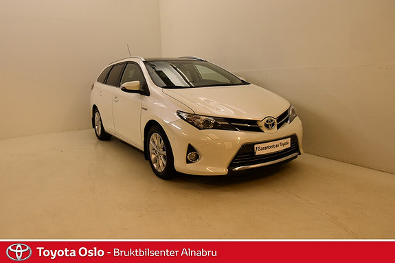 Toyota Auris Touring Sports 1,8 Executive Skinn, Automat, DAB+,  2014, 69 973 km, kr 239 900,-