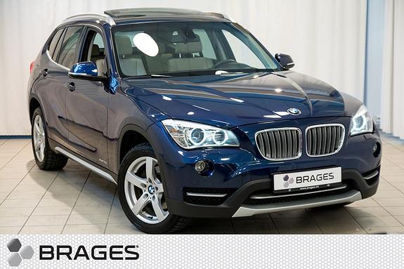 BMW X1 xDrive18d (136hk) aut 1-Eier, Panorama, NaviProff, Krok  2014, 120900 km, kr 309000,-