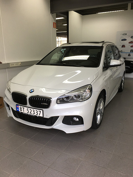 BMW 2-serie 225XE iperformance M Sport,Panorama tak,skinn 2017, 11000 km, kr 405000,-