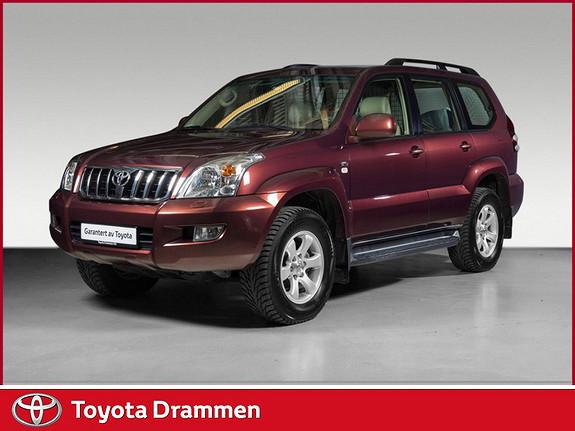 Toyota Land Cruiser 3,0 D-4D aut.  2007, 114460 km, kr 299000,-
