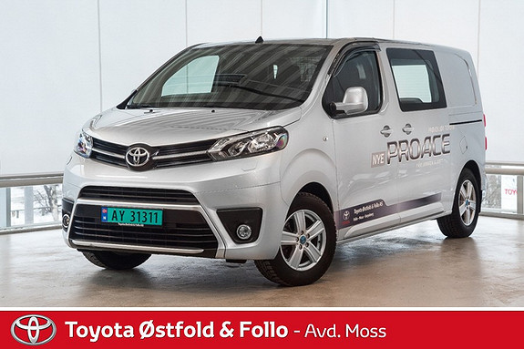 Toyota Proace 1,6 D 115 Comfort Medium L1H1 / HENGERFESTE / DAB+ / DE  2016, 8600 km, kr 279000,-