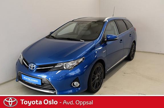 Toyota Auris Touring Sports 1,8 Hybrid Executive Navigasjon, Ryggeka  2014, 31271 km, kr 259900,-