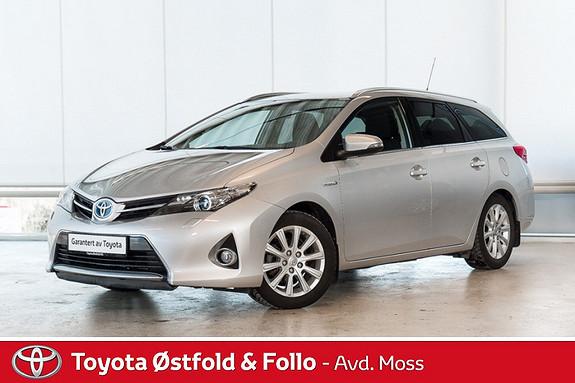 Toyota Auris 1,8 Hybrid E-CVT Active+ / AUTOMATGIR / SERVICE TATT 13  2014, 45000 km, kr 228000,-