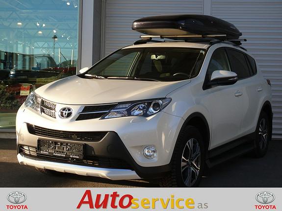 Toyota RAV4 2,0 D-4D 4WD Active Style  2015, 36000 km, kr 399000,-
