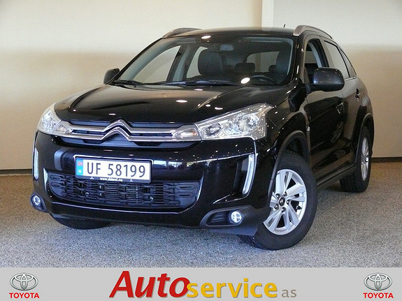 Citroën C4 Aircross HDi 115 Nordic Edition 4WD  SELGES FOR KUNDE, MEGET PEN  2013, 84000 km, kr 246000,-