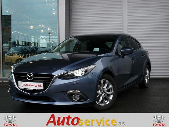 Mazda 3 2,0 120hk Optimum aut NB: LAV KM!  2013, 21000 km, kr 229000,-