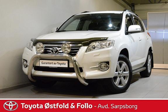 Toyota RAV4 2,2 D-4D Vanguard Executive , PARKERINGSVARMER / NAVI,  2012, 91400 km, kr 268000,-