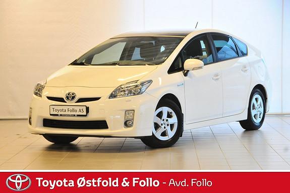 Toyota Prius 1,8 VVT-i Hybrid Executive Velutstyrt Velholdt  2010, 90550 km, kr 148000,-