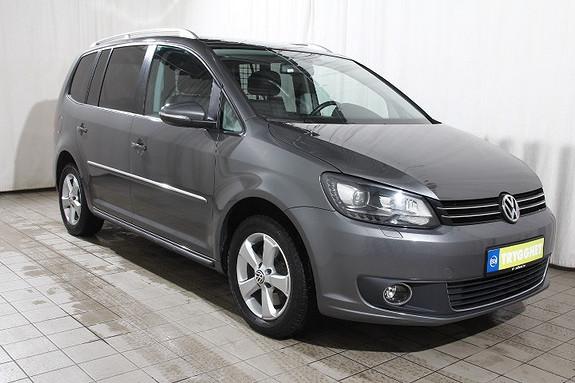 Volkswagen Touran 2,0 TDI 170 DSG6 Highline Xenon - Sportsseter - Skinn -