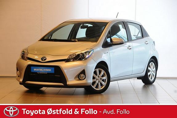 Toyota Yaris 1,5 Hybrid Active Alufelg, tåkelys  2014, 60562 km, kr 165000,-