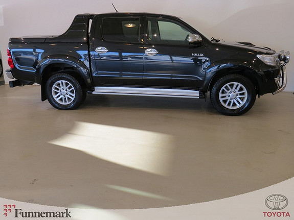 Toyota HiLux D-4D 171hk D-Cab Aut 4WD SR+ (Mye utstyr!!)  2014, 35000 km, kr 359000,-