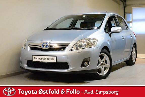 Toyota Auris 1,8 Hybrid Executive HSD  2011, 84000 km, kr 148000,-