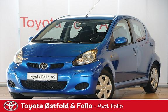 Toyota Aygo 1,0 + 5-d Meget pen og driftsikker Lav km  2011, 53600 km, kr 79000,-