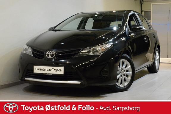 Toyota Auris 1,33 Dual VVT-i  Sense  2013, 78200 km, kr 158000,-