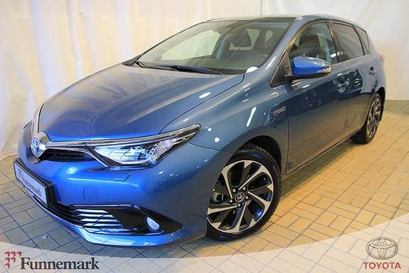 Toyota Auris 1,8 Hybrid E-CVT Style  2016, 5501 km, kr 269000,-
