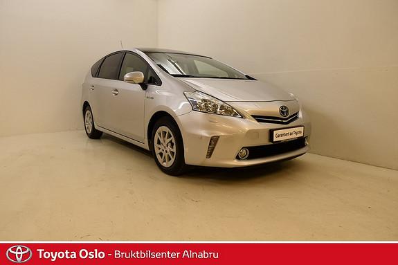 Toyota Prius+ Seven 1,8 VVT-i Hybrid Premium DAB+, Skinn, Glasstak,  2015, 57031 km, kr 319900,-