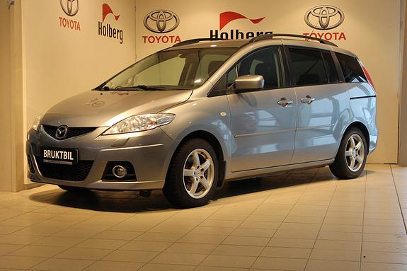 Mazda 5 2.0 D 110hk Advance Plus Skinnseter, Elektriske skyvedø  2010, 159400 km, kr 139000,-
