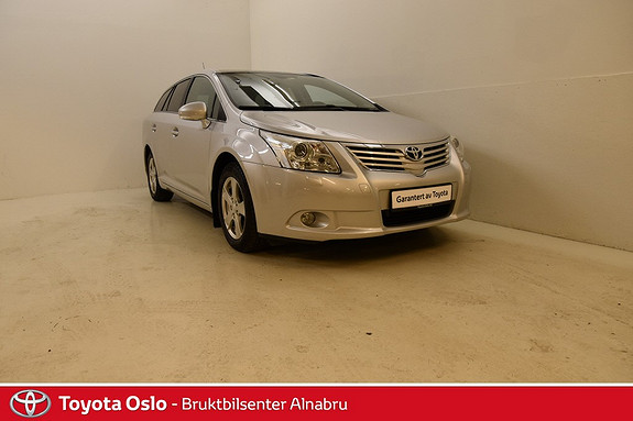 Toyota Avensis 2,0 152hk Premium Multidrive S Hengerfeste, Glasstak, A  2009, 81082 km, kr 199900,-